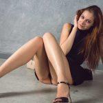 London Escorts - Playful Girl Showing Under Skirt